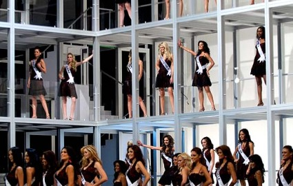 Stage at Miss Universe 2007