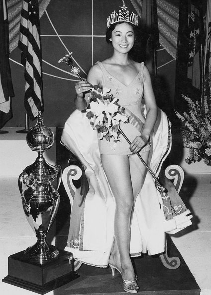 Miss Universe 1959 Akiko Kojima from Japan