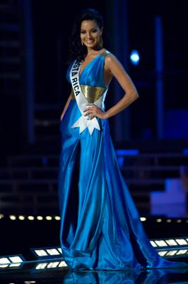 Miss Universe 2011 - 89 delegates Official Evening Gown Photo