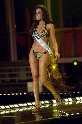 Miss Paraguay Maria Jose Madonaldo Gomez in swimsuit